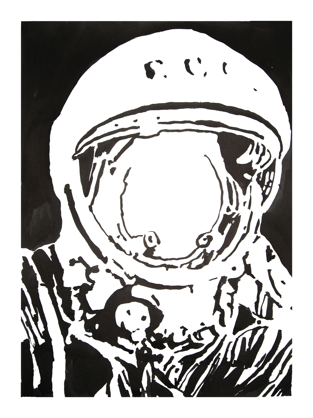 untitled. (spaceman blot 04)