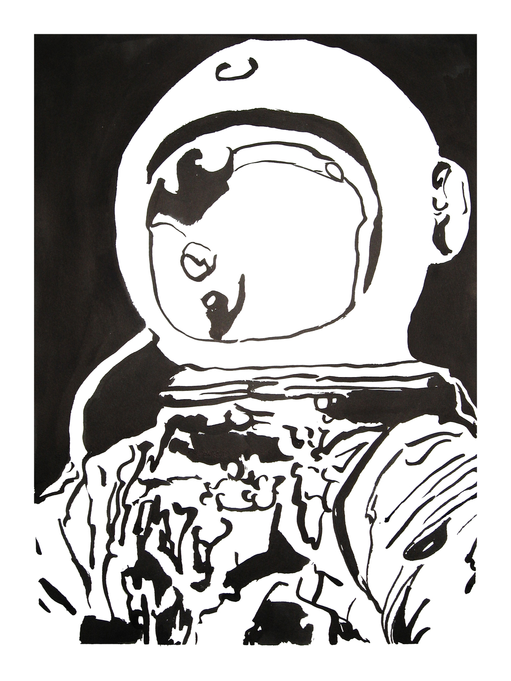 untitled. (spaceman blot 05)