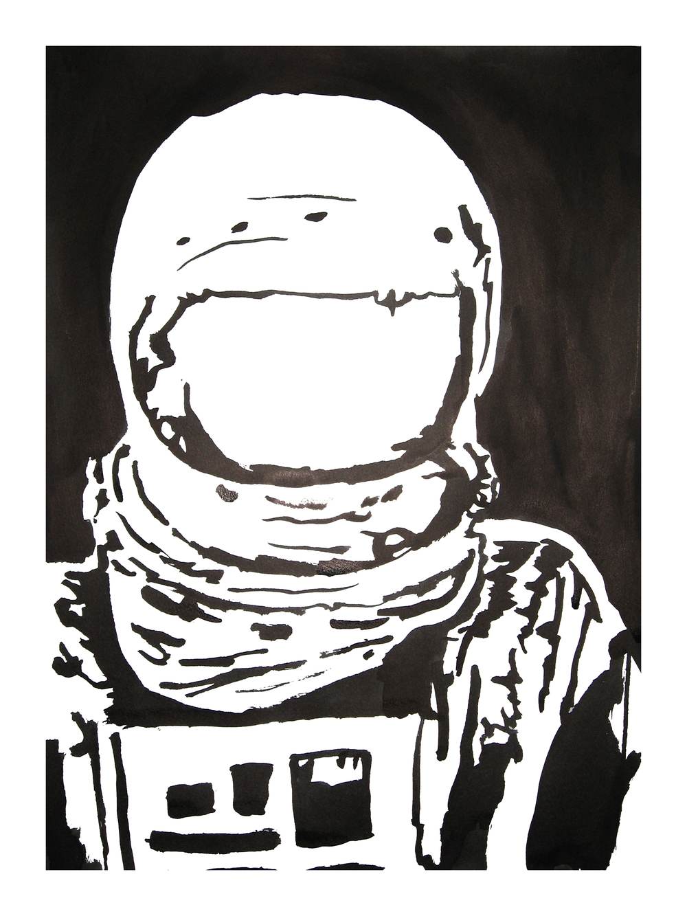untitled. (spaceman blot 07)