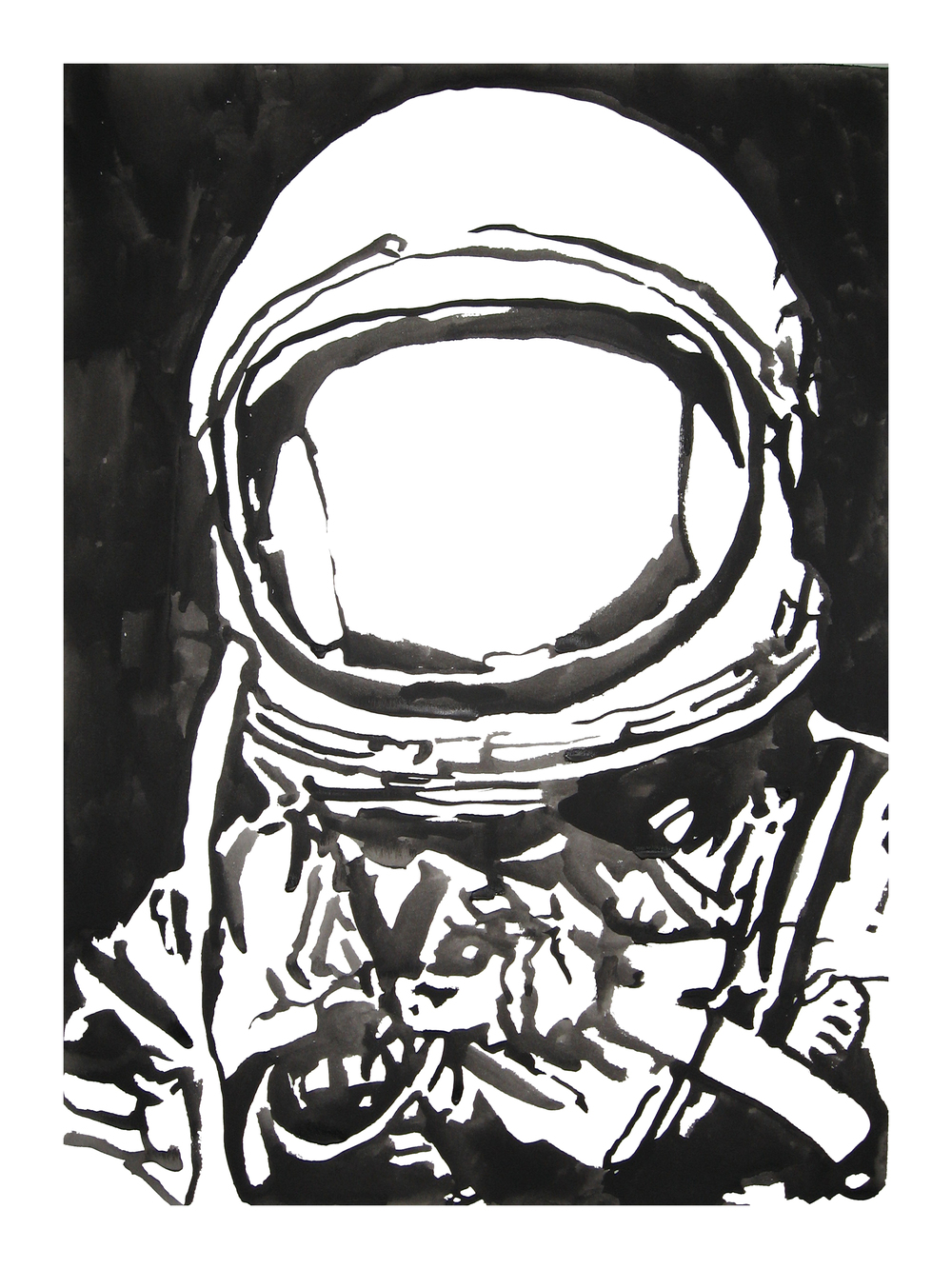 untitled. (spaceman blot 08)