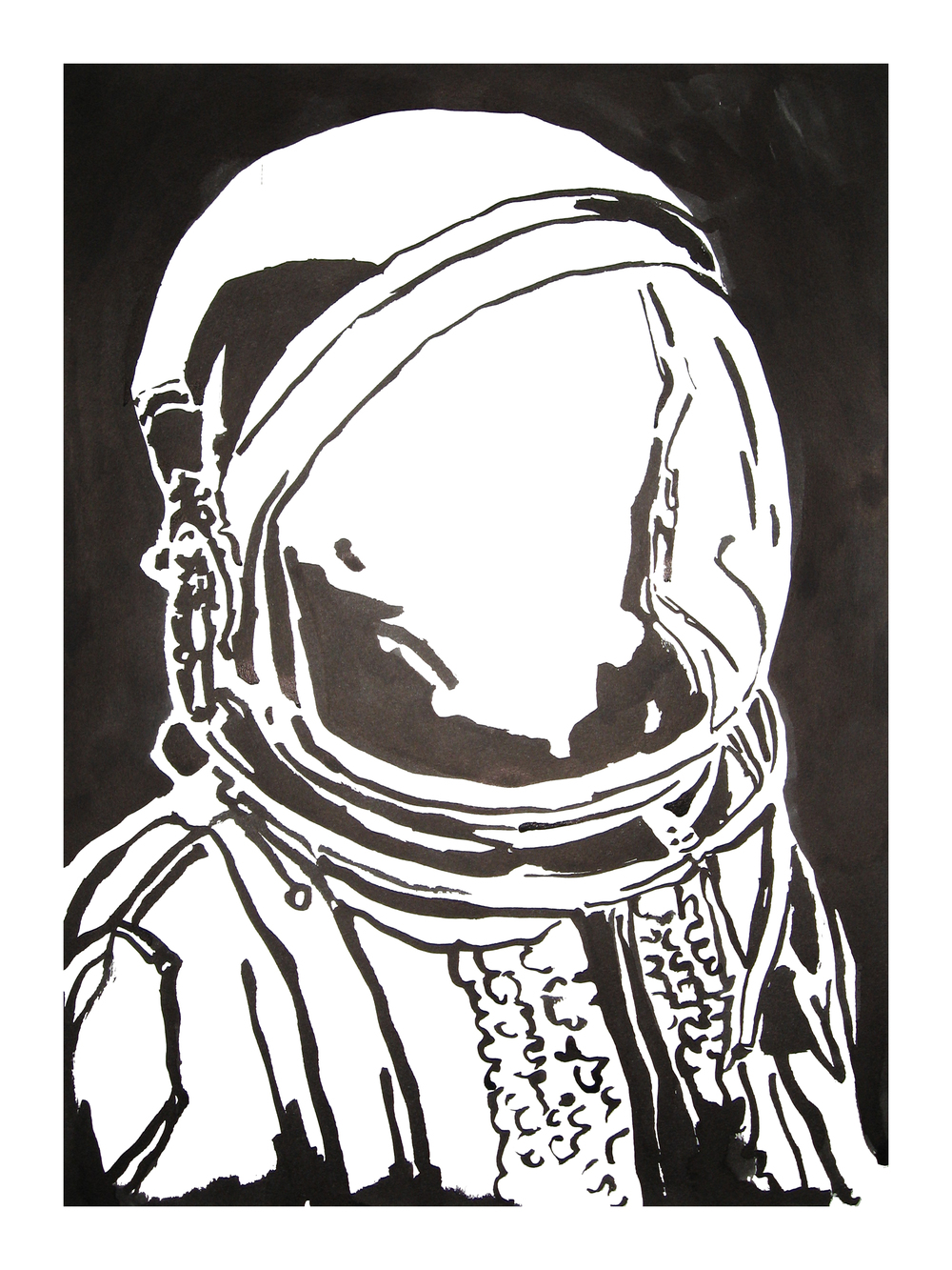 untitled. (spaceman blot 10)