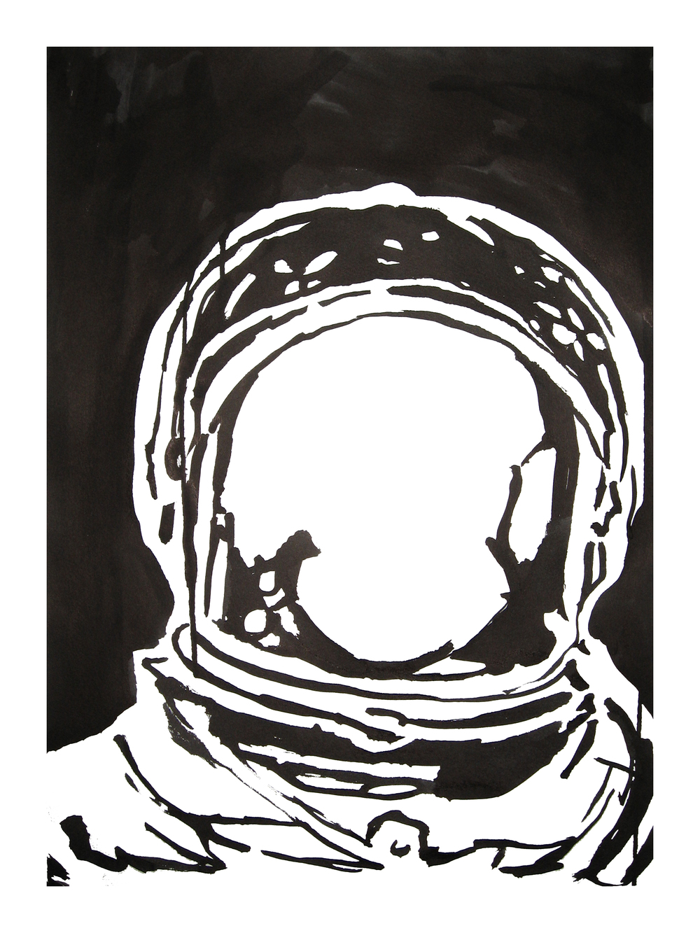 untitled. (spaceman blot 11)