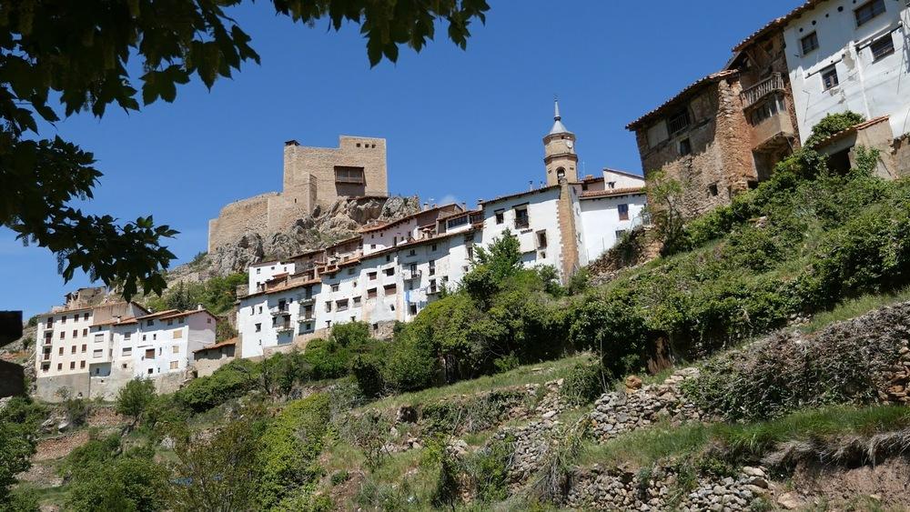Spain Alcala De La Selva Town View◹