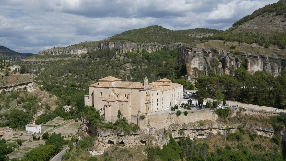 Spain Cuenca Parador In Old Monastery◹
