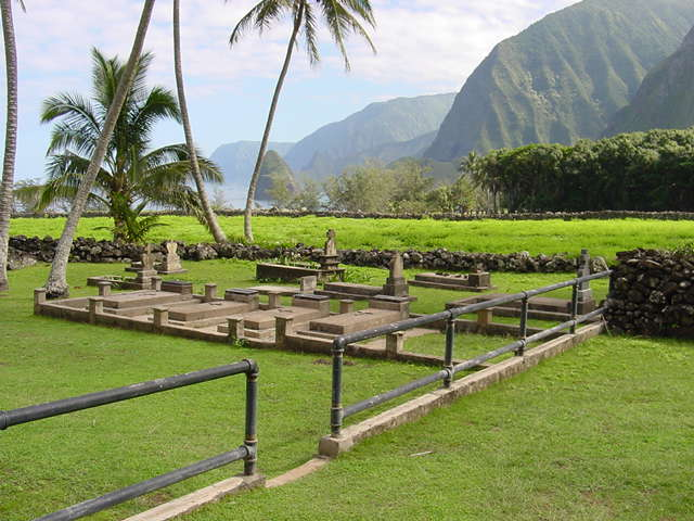 Looking toward Moku-pua-kala Photo by Kerri A. Inglis