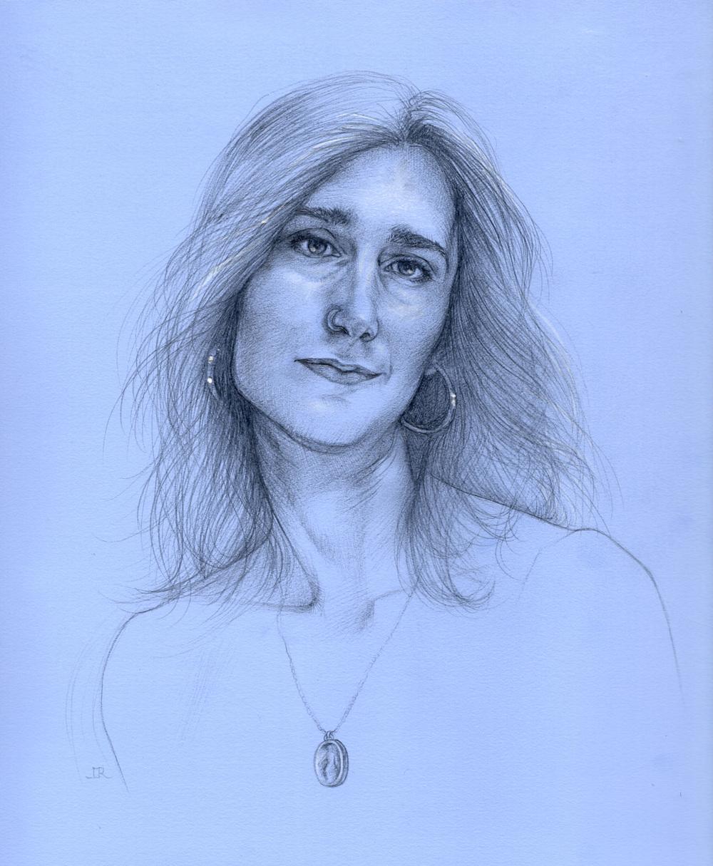 Leslie, as a Botticellian Magdalene