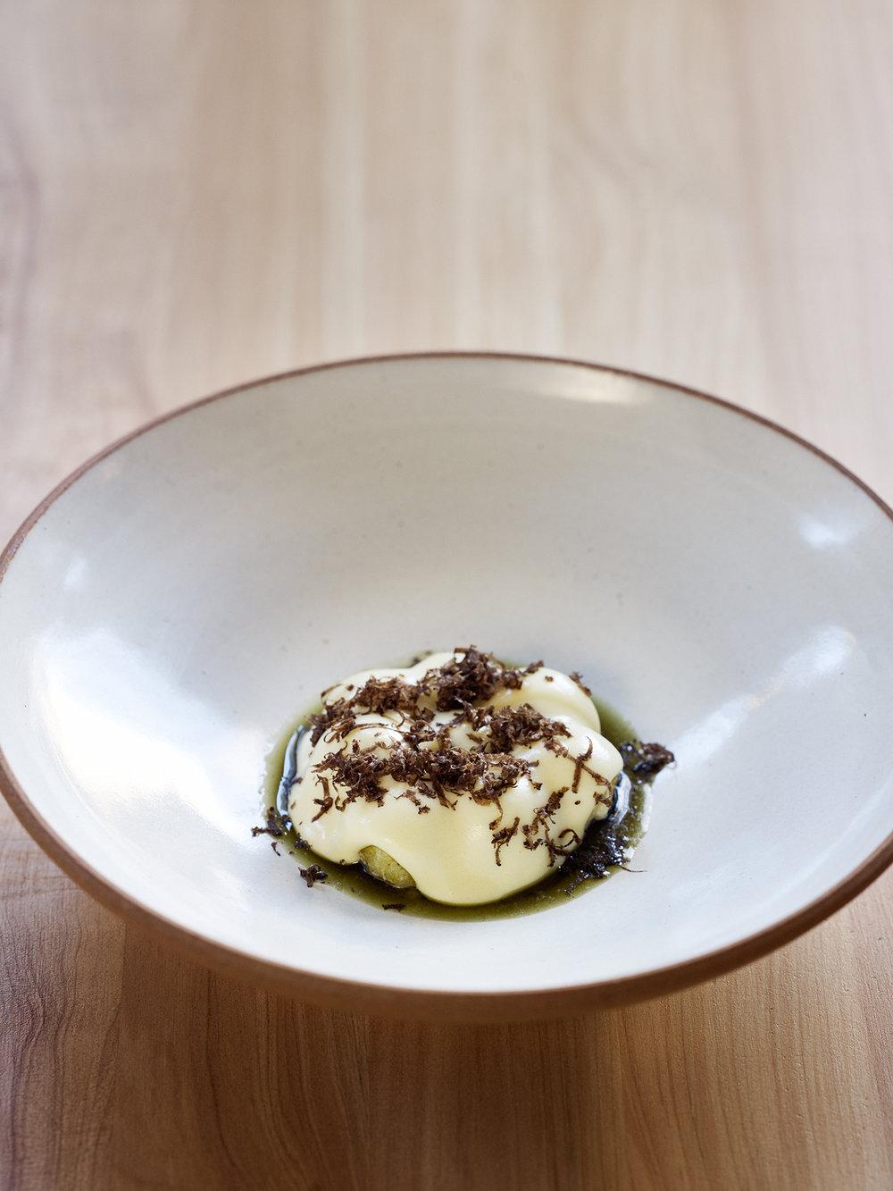 Potatoes, seaweed & truffle | Aaron Mclean