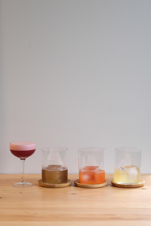 Cocktails from Menu 003 | Laura Verner