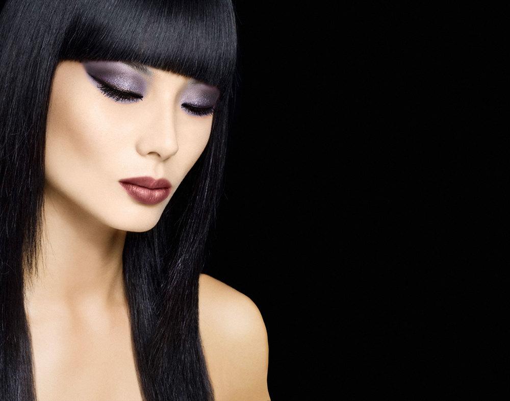 femme fatale makeup look