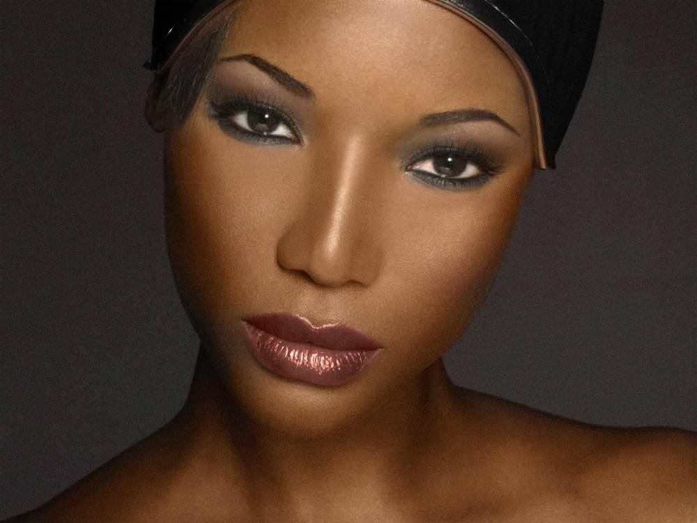 smokey eyes, warm 1 makeup look