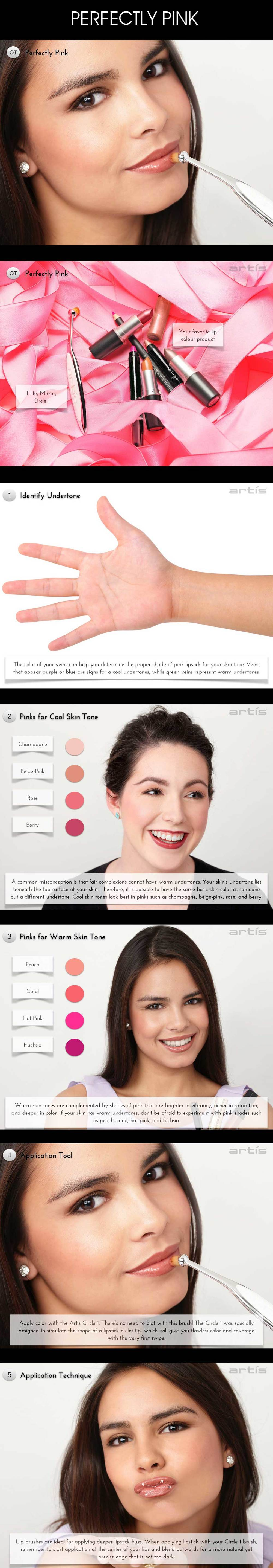 perfectly pink tutorial all images