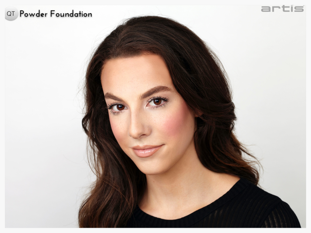 POWDER FOUNDATION APPLICATION