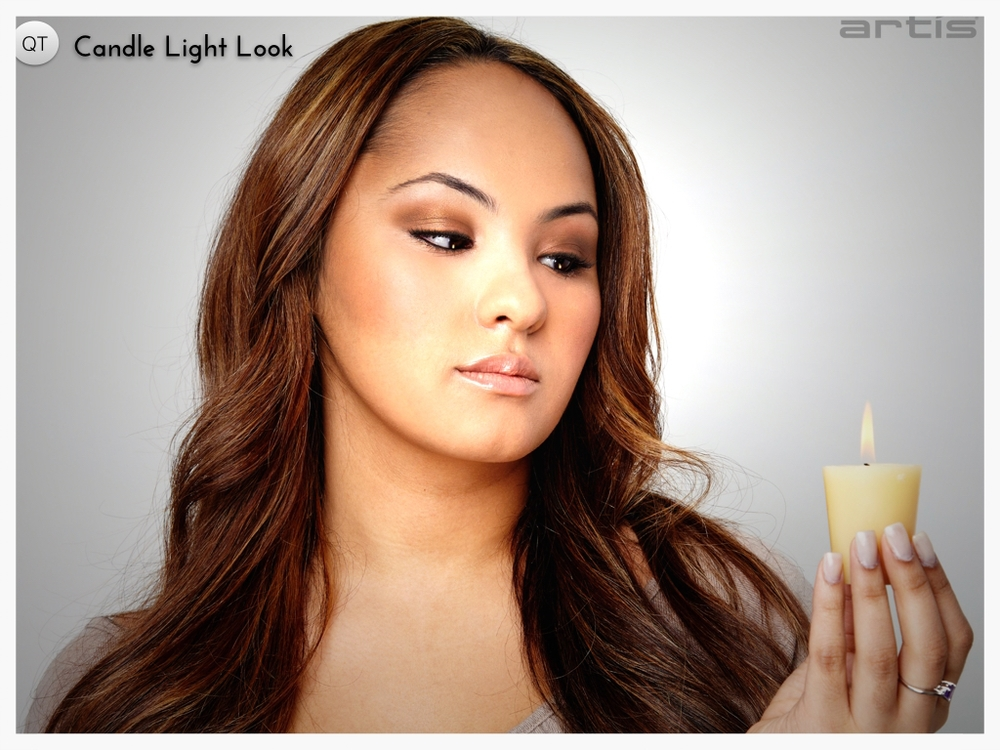 CANDLE LIGHT LOOK