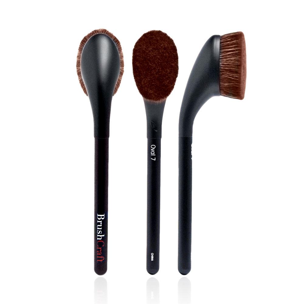 Oval 7 artis makeup brushes for Brush craft vs artis