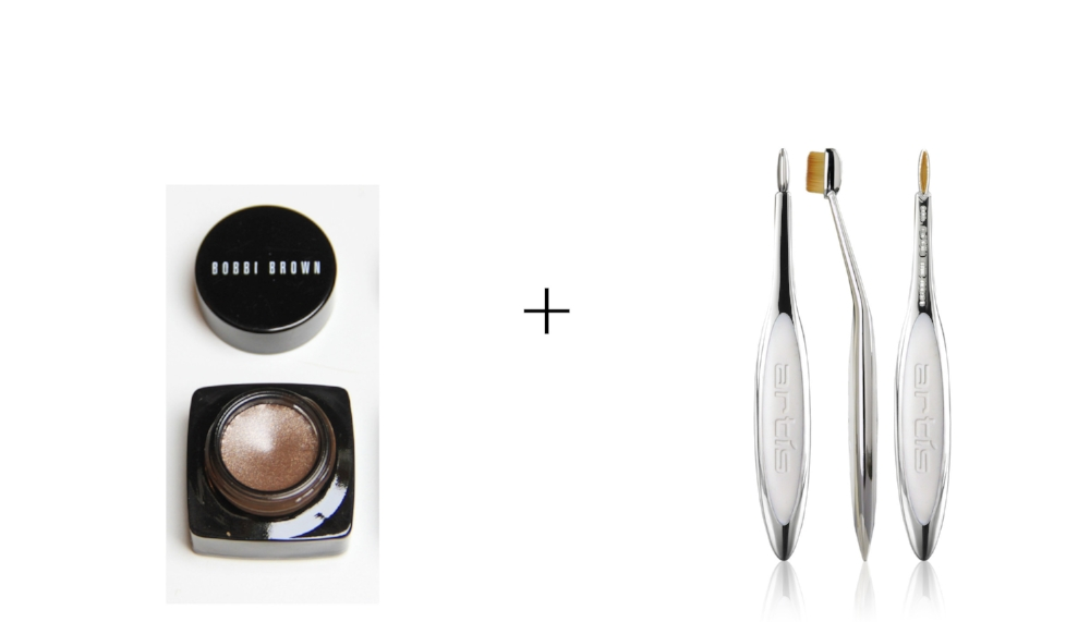 BOBBI BROWN GEL EYELINER       &       ELITE MIRROR LINEAR 1