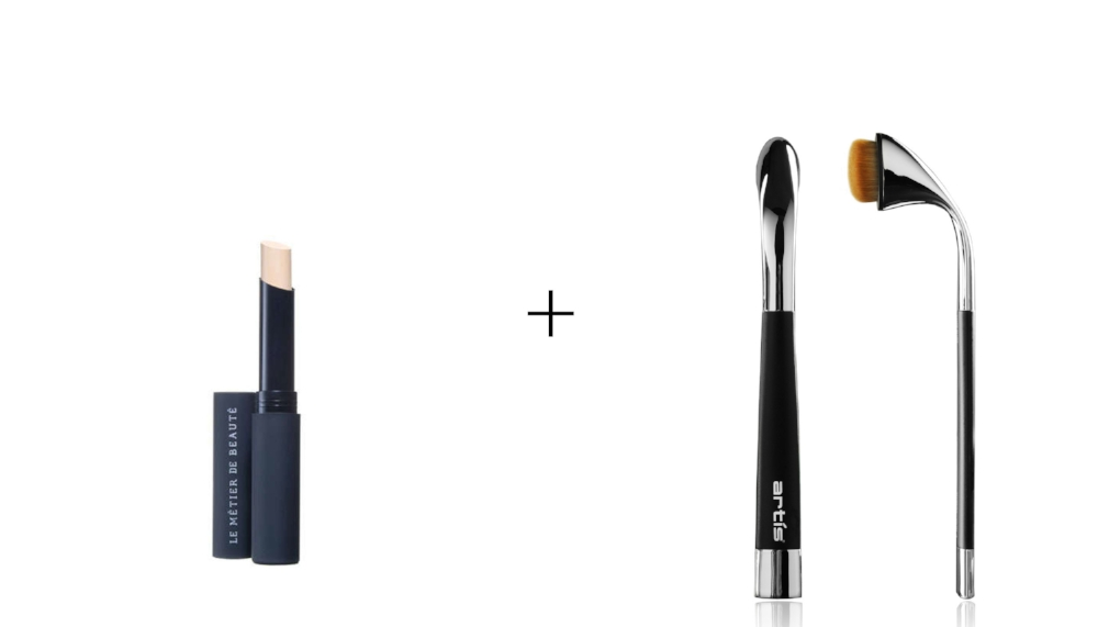 LE METIER DE BEAUTE FLAWLESS FINISH CONCEALER       &      FLUENTA OVAL 4