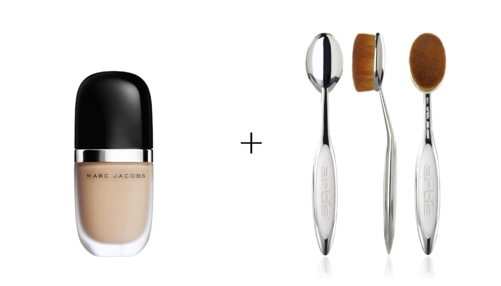 MARC JACOBS FOUNDATION     &    ELITE MIRROR OVAL 7