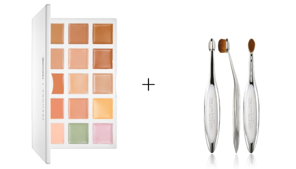 PANTONE COLOUR CORRECTION PALETTE    &    ELITE MIRROR OVAL 3