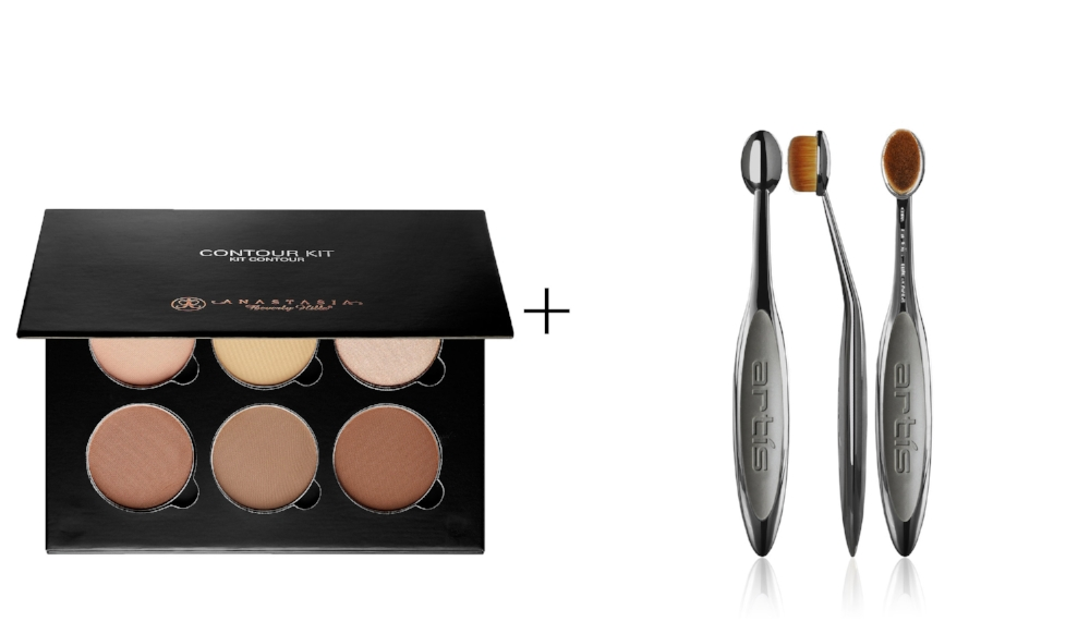 ANATASIA CONTOUR KIT    &    ELITE SMOKE OVAL 4