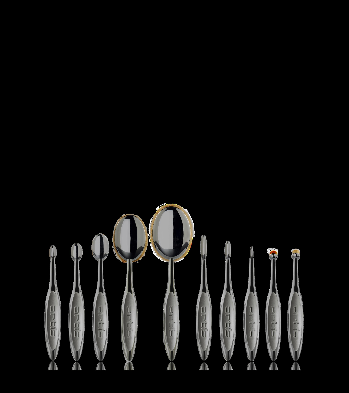 Elite Smoke Collection Artis Makeup Brushes