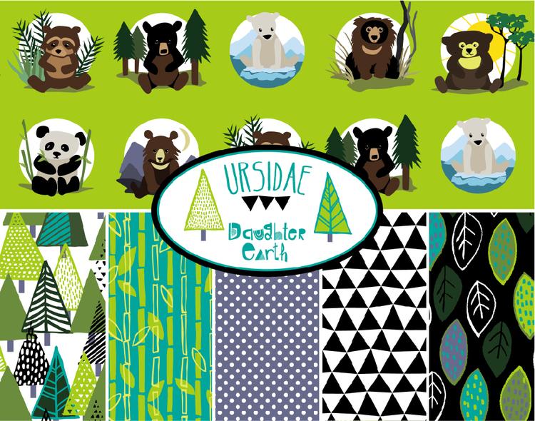 Ursidae-8-species-of-bears-fabric-collection.jpg