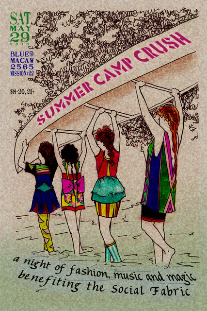 Summer Camp Crush Fashion Show