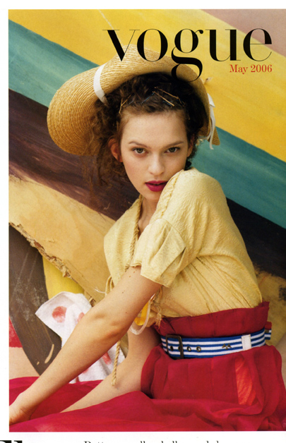coulours of summer british vogue may 2006 by tim walker