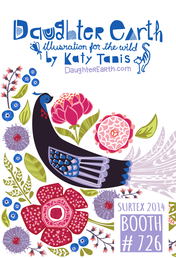 Surtex 2014 Daughter Earth Flier