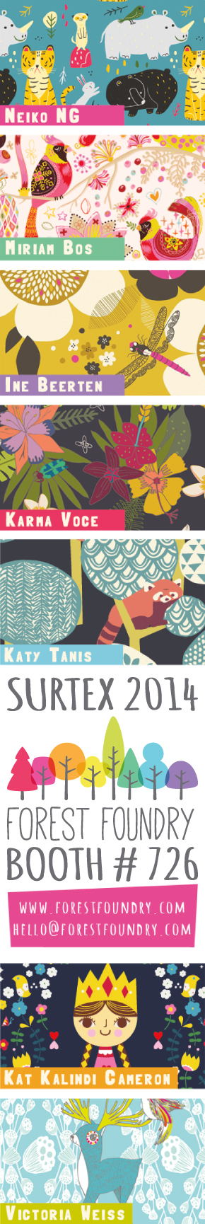 Surtex 2014 Forest Foundry Flyer