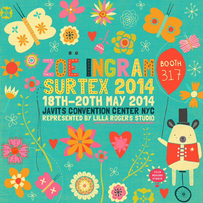 Zoe Ingram Surtex Flyer