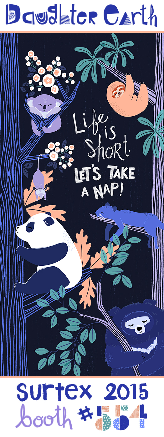 surtex-2015-sloth-panda-koala-illustration.jpg