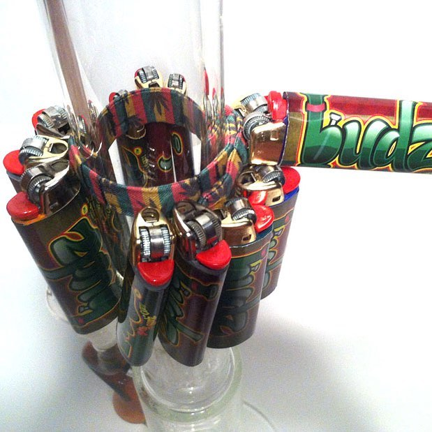 Always looking for that #lighter? Get yourself a #bongbudz and never be looking for one again. #budz