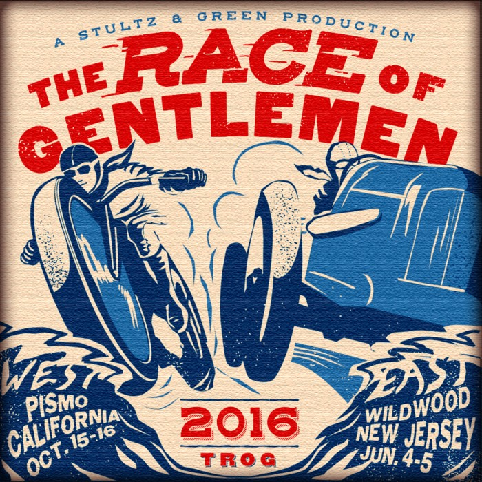 The Race of Gentlemen poster 2016.