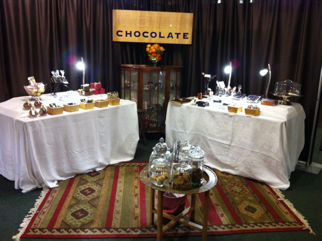 Alchemy Chocolate is one of my favorite booths. You can find her at the KPFA Crafts Fair, Richmond.