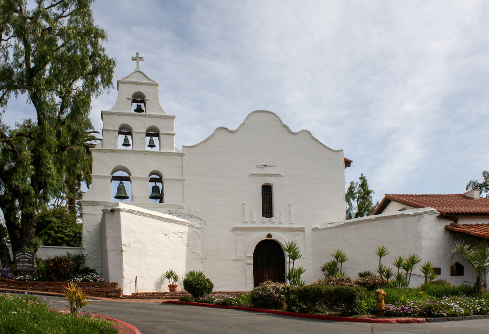 SAN DIEGO DO ALCALA, 1ST MISSION, SAN DIEGO