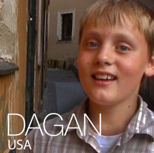 Dagan in I AM ELEVEN