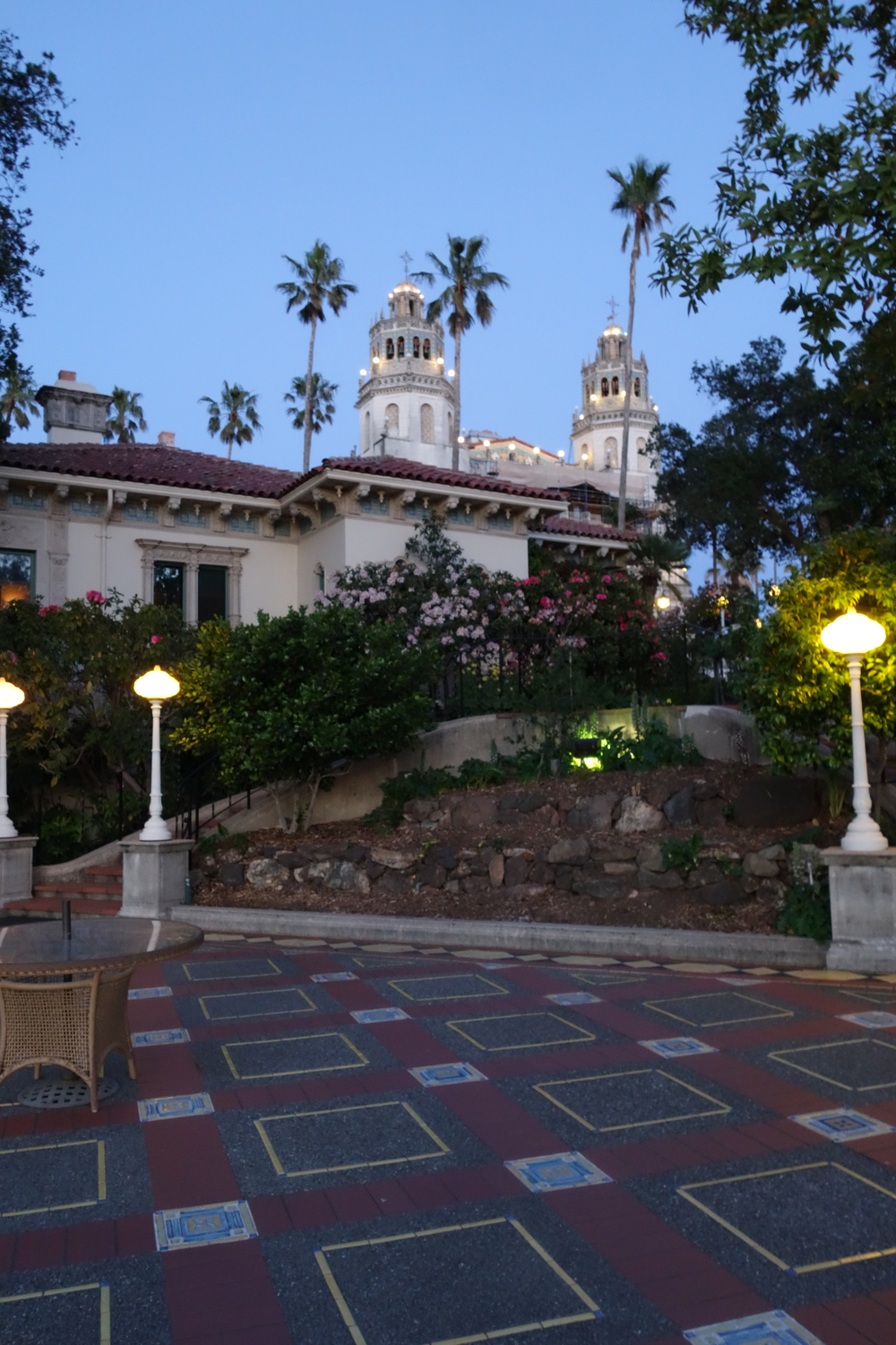 Hearst Castle Evening Tour
