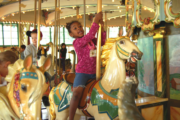 Dentzel Carousel at The San Francisco Zoo