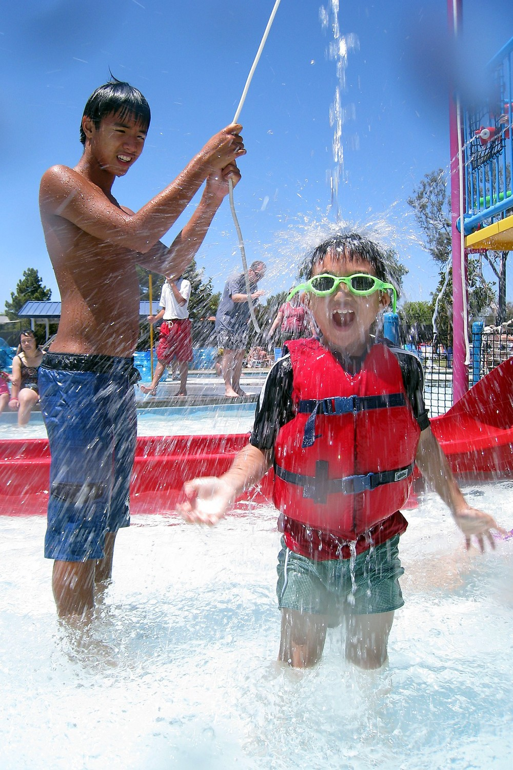 Connor Vo & cousin at waterpark.jpg