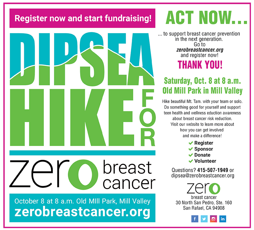 Zero Breast Cancer Dipsea Walk