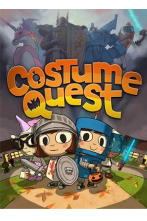 Cool Adventure Apps:    Costume Quest   8+, In this charming role-playing game, choose your hero and trick-or-treat through three beautiful environments full of Double Fine humor and story.