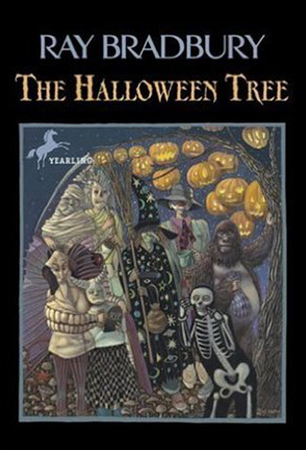 MYSTERIOUS BOOKS:    The Halloween Tree   11, Ray Bradbury – 8 boys