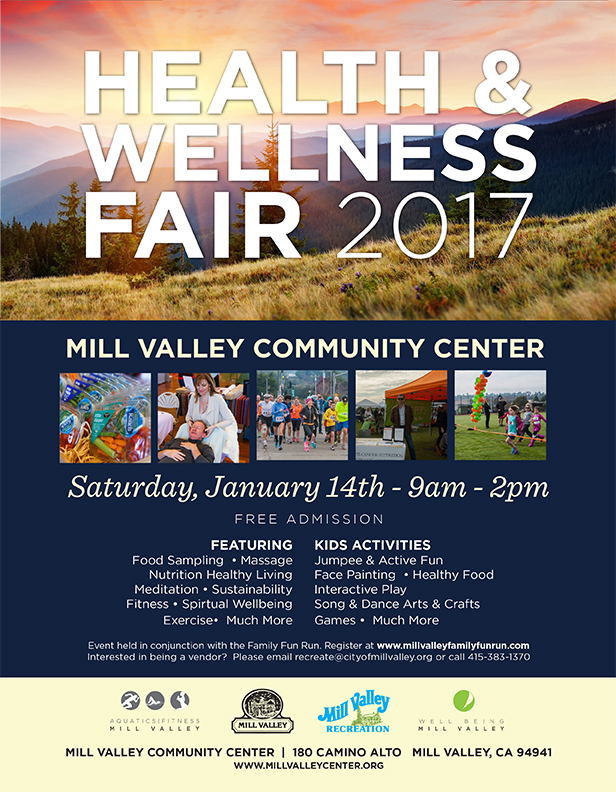 5th annual mill valley health  u0026 wellness fair and family