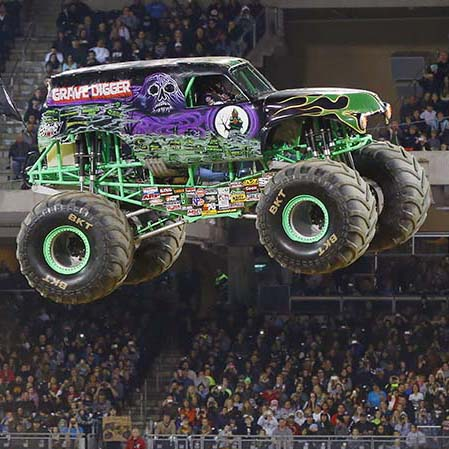 Monster Jam Is Coming To Santa Jose Ronnie S Awesome List