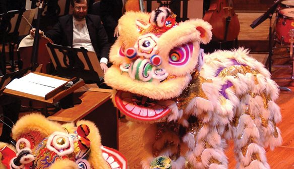 Chinese New Year Concert and Imperial Dinner, San Francisco Symphony, Davies Hall.