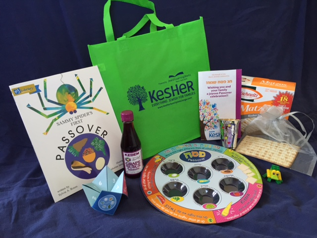 Kesher is offering a free Passover gift bag.Don't delay! Click hereto get yours. Supplies are limited. Priority goes to families who have not received a gift bag in the past.