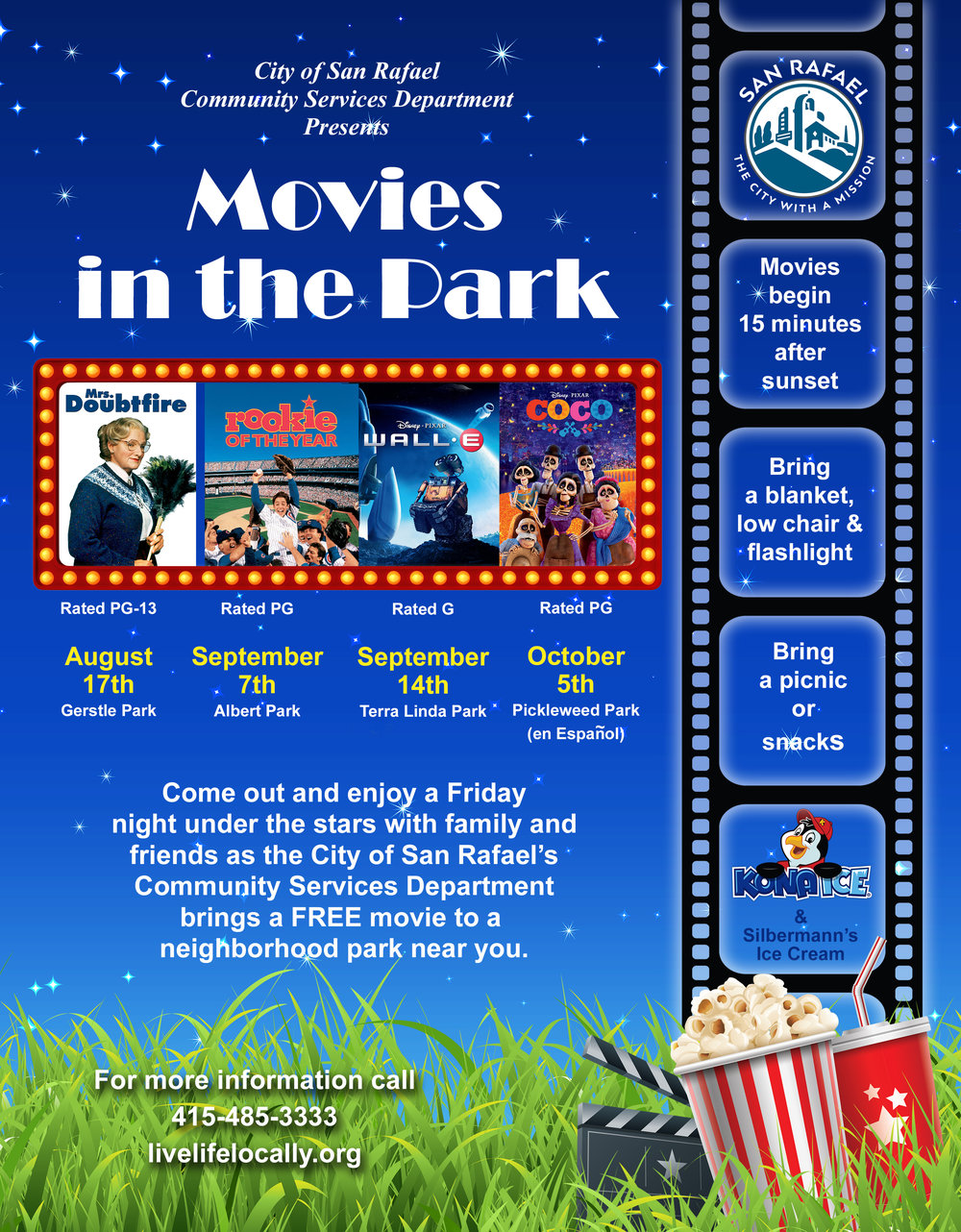 Movies In The Park Rookie Of The Year Ronnies Awesome List