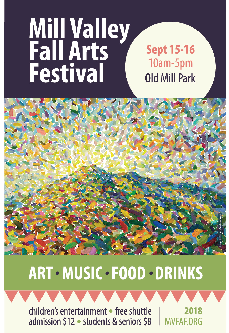 CLICK IMAGE to VIEW The Mill Valley Fall Arts Festival Guide! (PDF)
