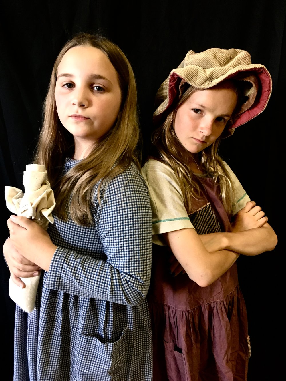 Lucy Shalhoup & Holland Vigneaud alternating in the roles of Little Cosette and Young Eponine.