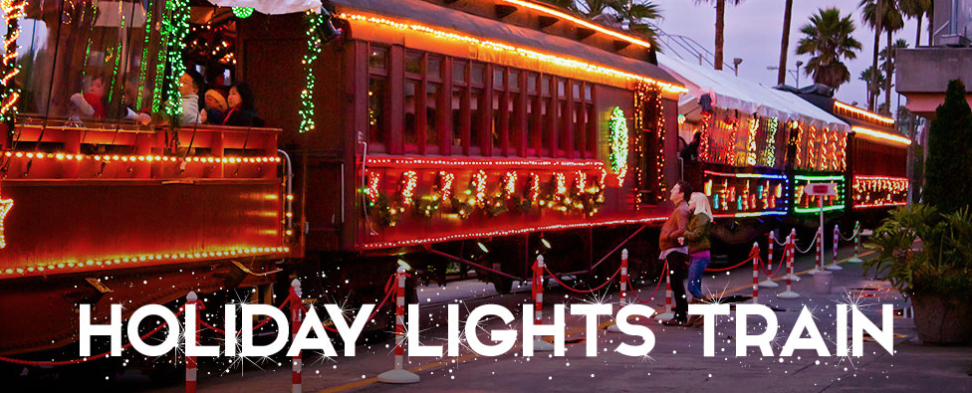 Holiday Train Rides At The Boardwalk Ronnie S Awesome List